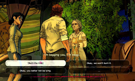 The Wolf Among Us Auntie Greenleaf Choice