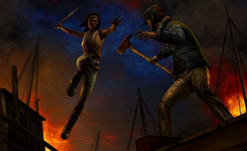 The Walking Dead, Michonne ep 3